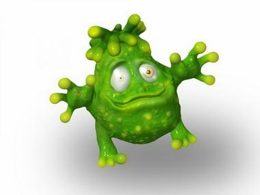 Бактерия.