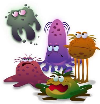 Микробы.