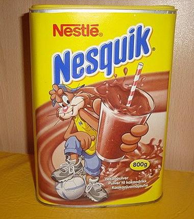 Какао Nesquik.