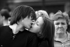 Поцелуи повышают иммунитет